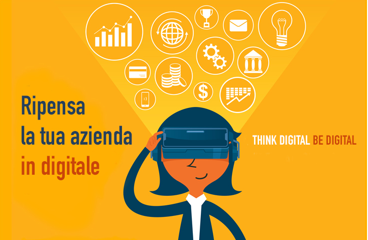 Think digital, be digital.